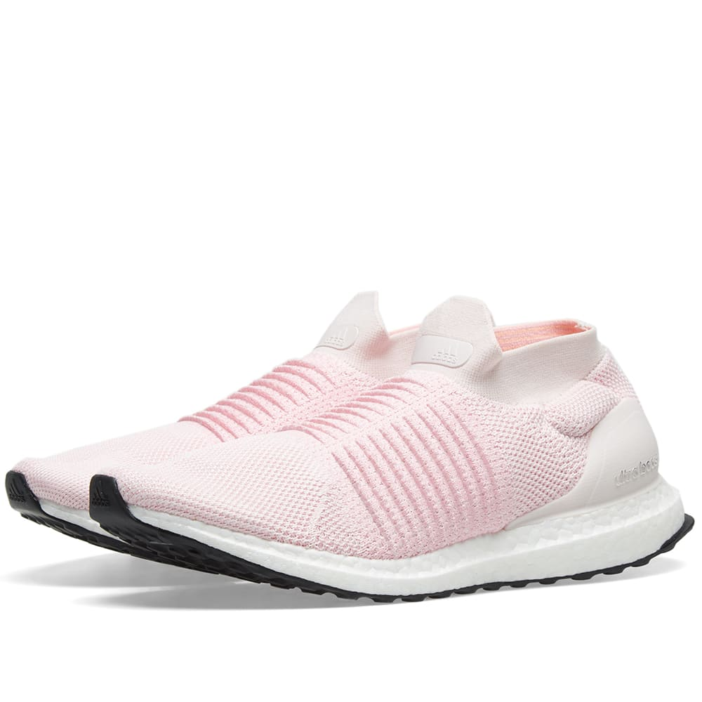 purchase cheap a67f6 fd129 Adidas Ultra Boost Laceless W Orchid Tint, Pink   Carbon   END.