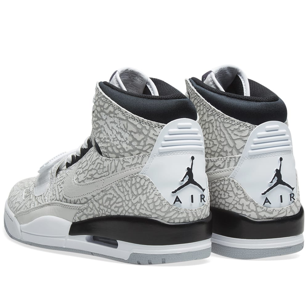 dd41b0e3fb1ff9 Air Jordan Legacy 312 White   Black