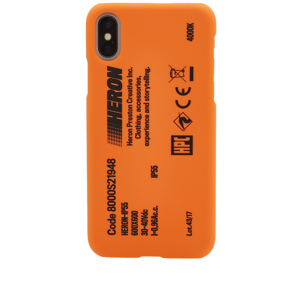 lowest price 27322 8f2f6 Heron Preston Stamp iPhone X Case