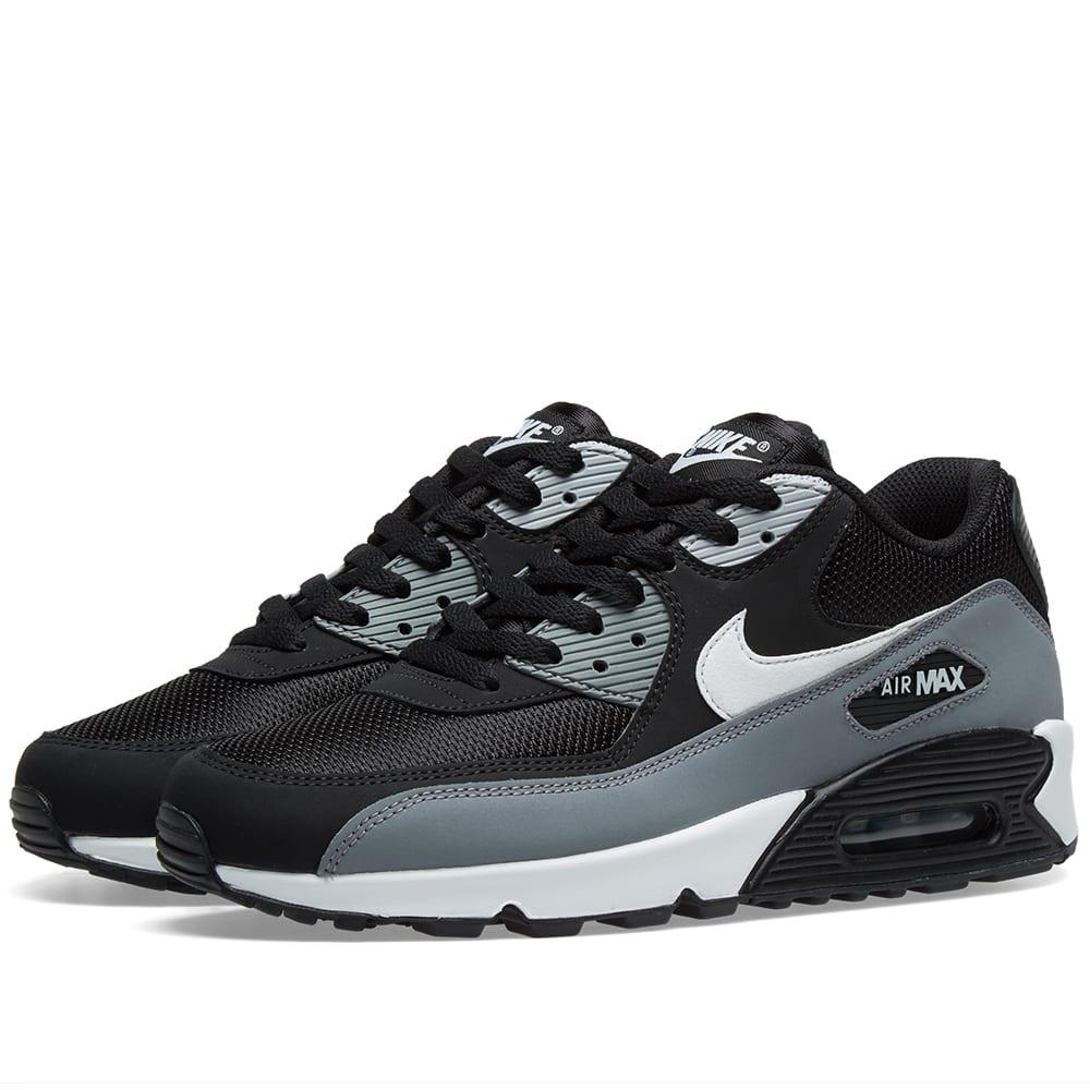 air max 90 essential black and white