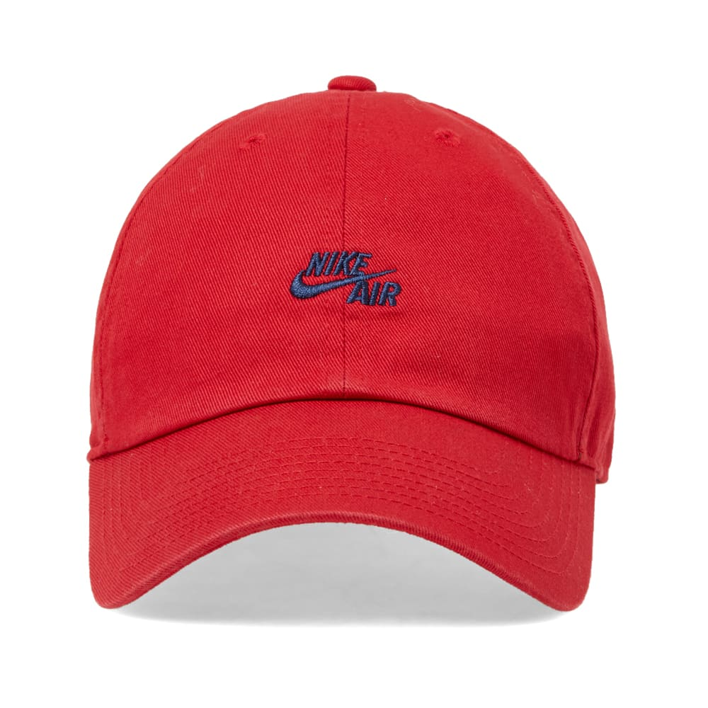 5d37ea859070 Nike Heritage Classic Cap Gym Red   Midnight Navy