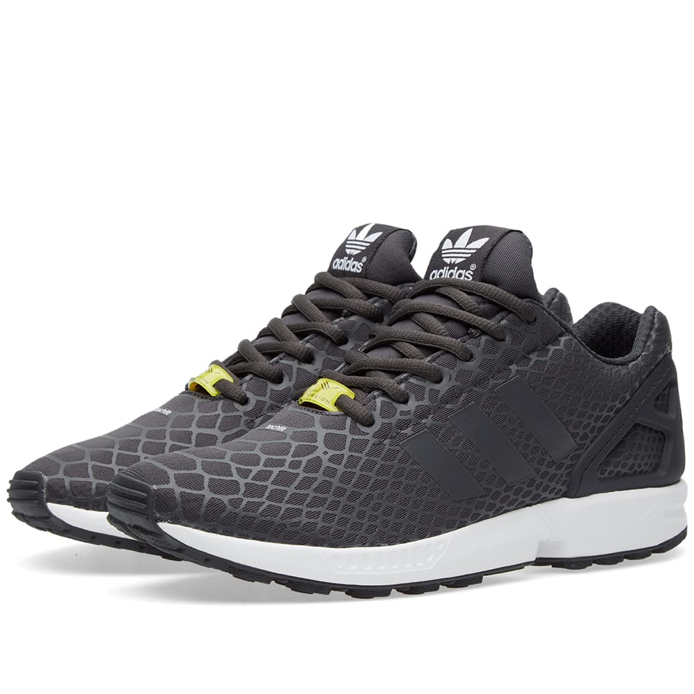 reputable site a6b3e 65146 Adidas ZX Flux Techfit Shadow Black   END.