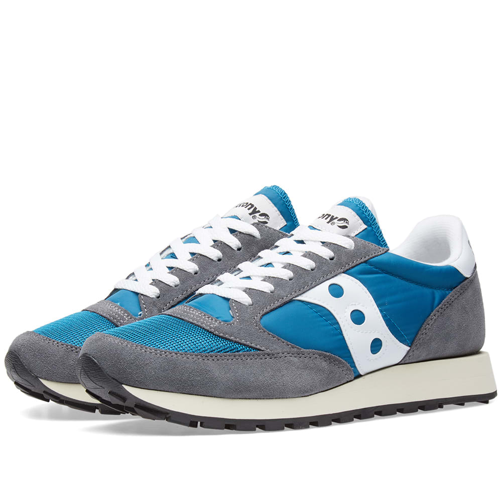 separation shoes 6b067 a4bb2 Saucony Jazz Original Vintage Castlerock   Teal   END.