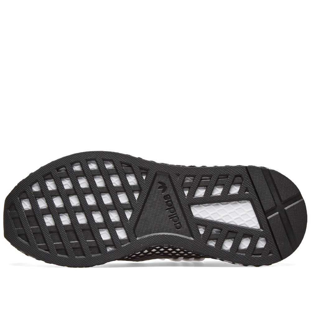 10839f254475d Adidas Deerupt S Runner White   Core Black