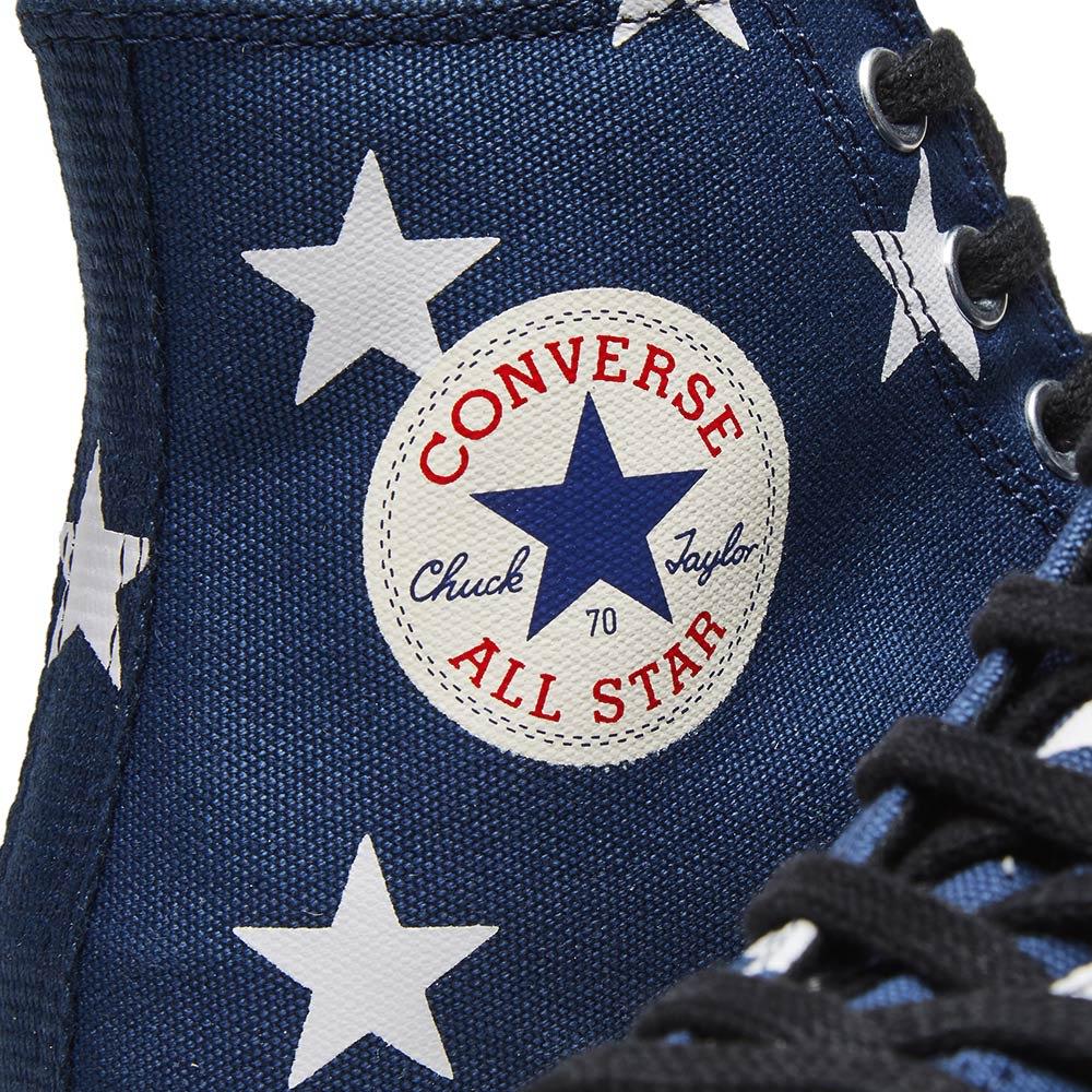 d0da2297d6ea Converse Chuck Taylor 1970s Hi Stars Canvas Navy   White   Egret