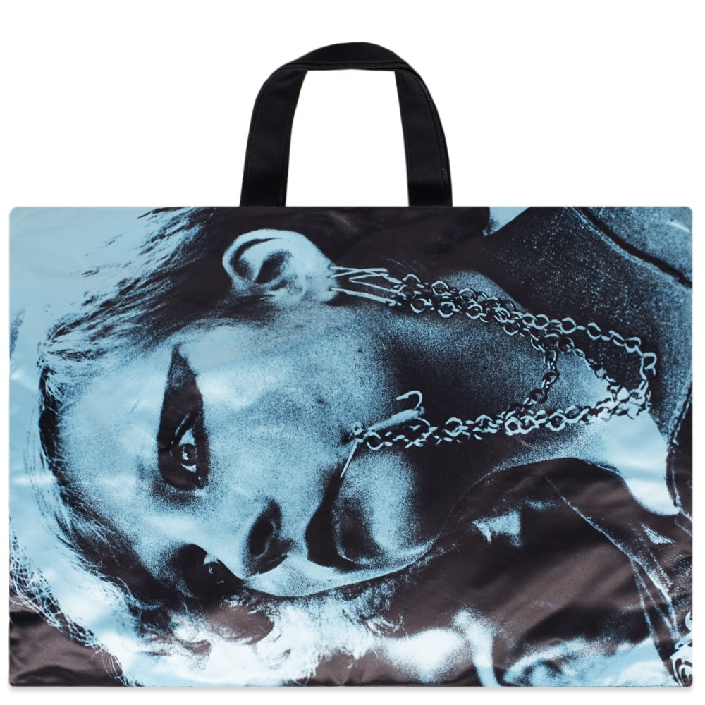 5a85d4d4c3f Eastpak x Raf Simons Punk Poster Tote Bag Black & Blue | END.