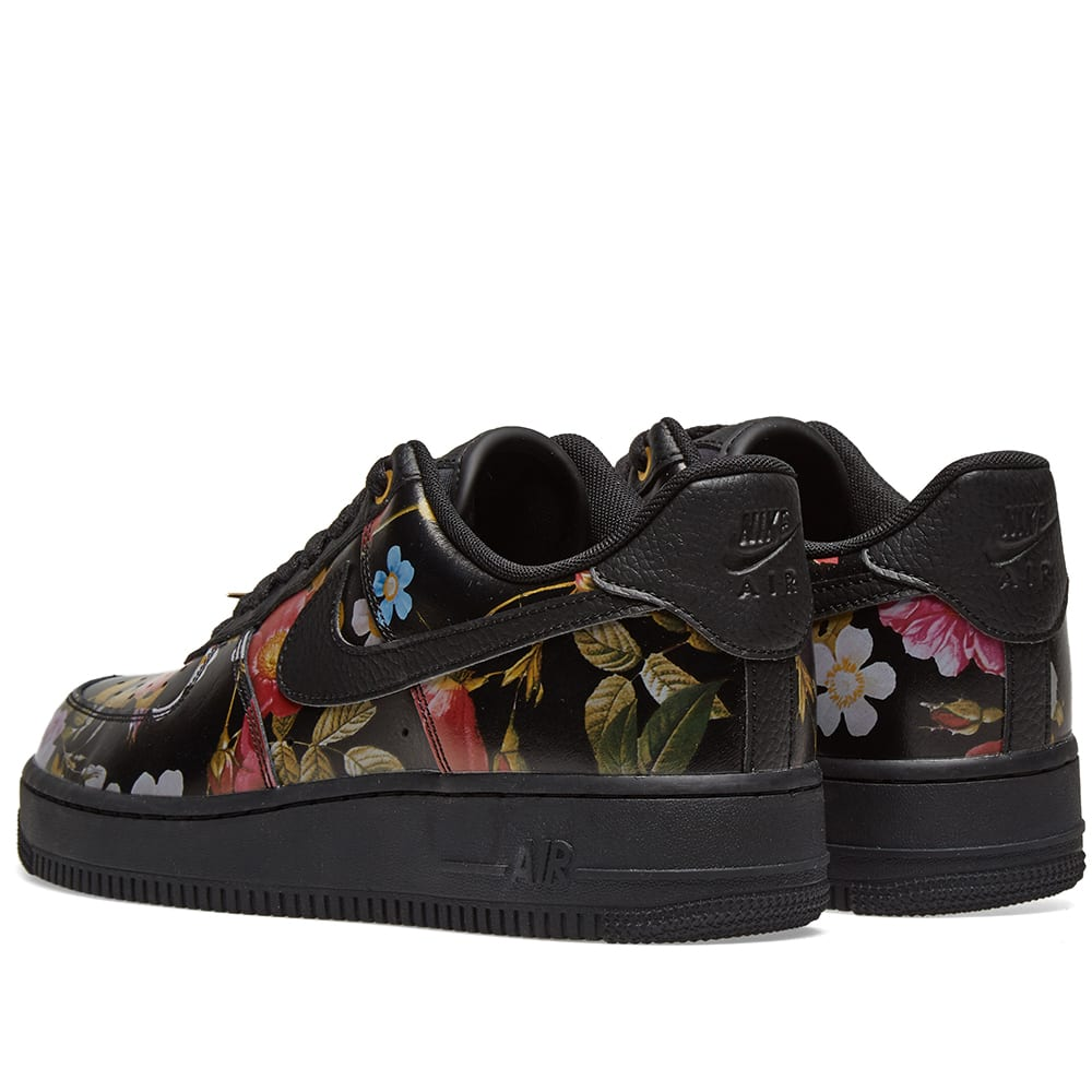 a5916621d463 Nike Air Force 1  07 LXX W  Floral  Black