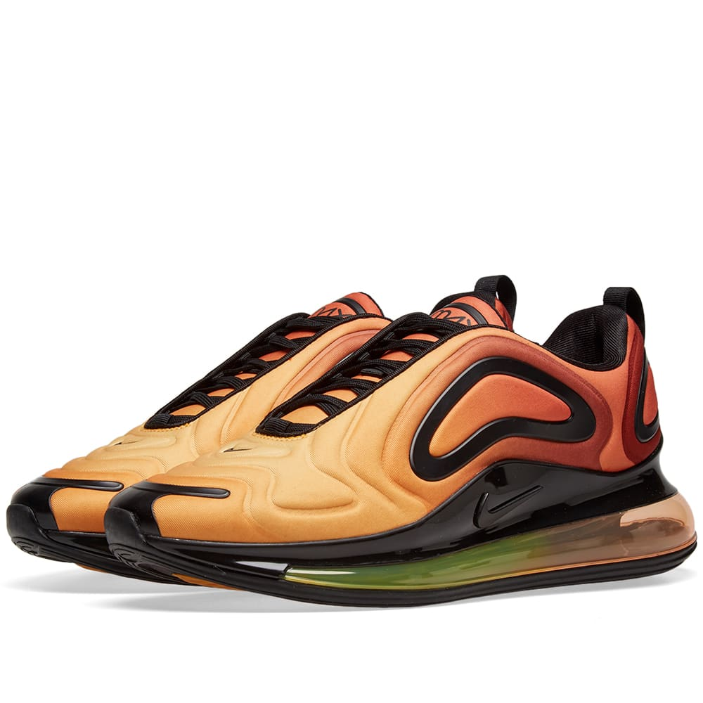 best service 13f89 46efb Nike Air Max 720 Team Orange, Gold   Black   END.