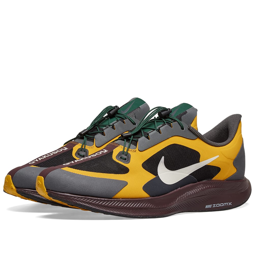 1267e35ed097 Nike + Gyakusou Zoom Pegasus Turbo Mesh Sneakers - Yellow In Multi