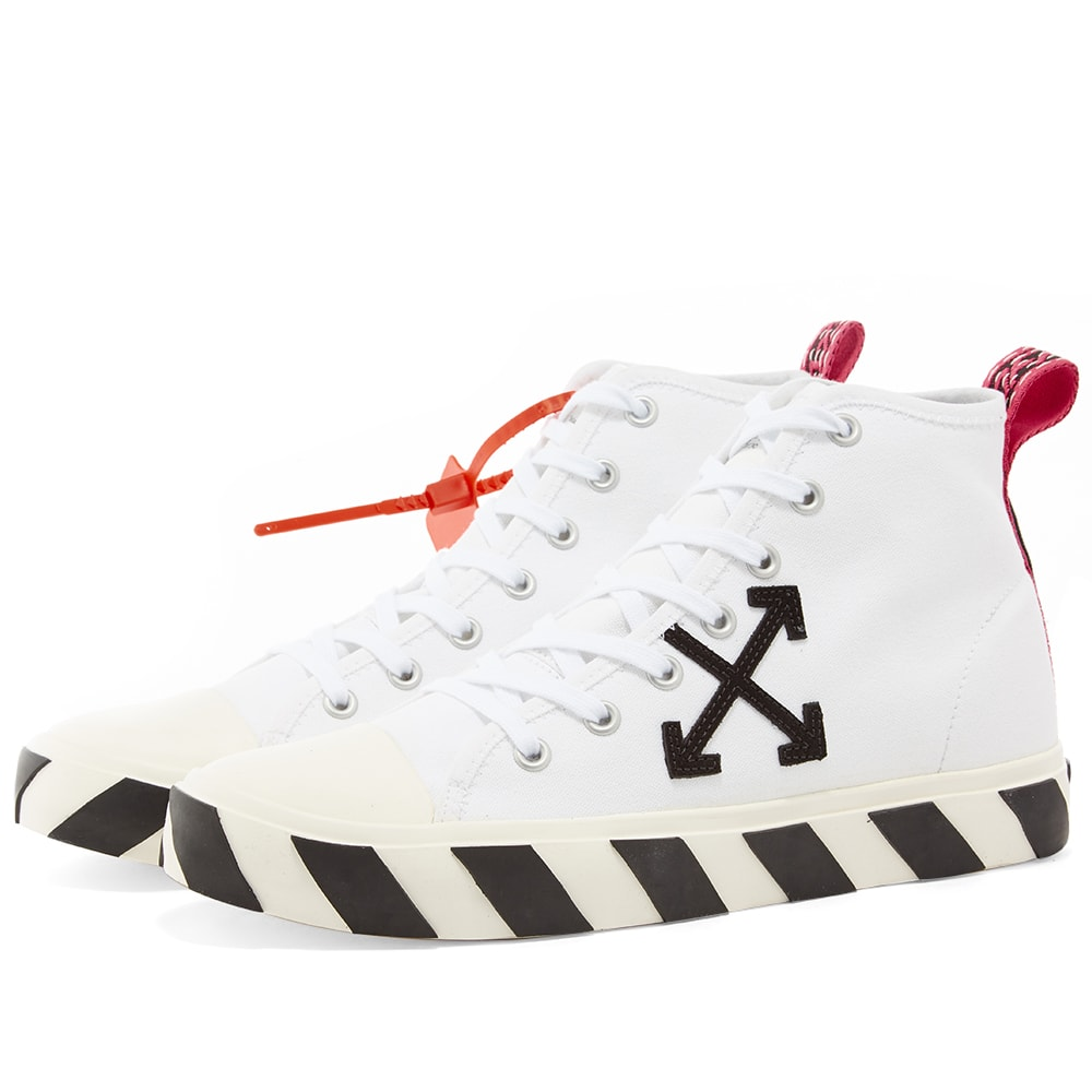 Off-White Mid Top Sneaker White | END.