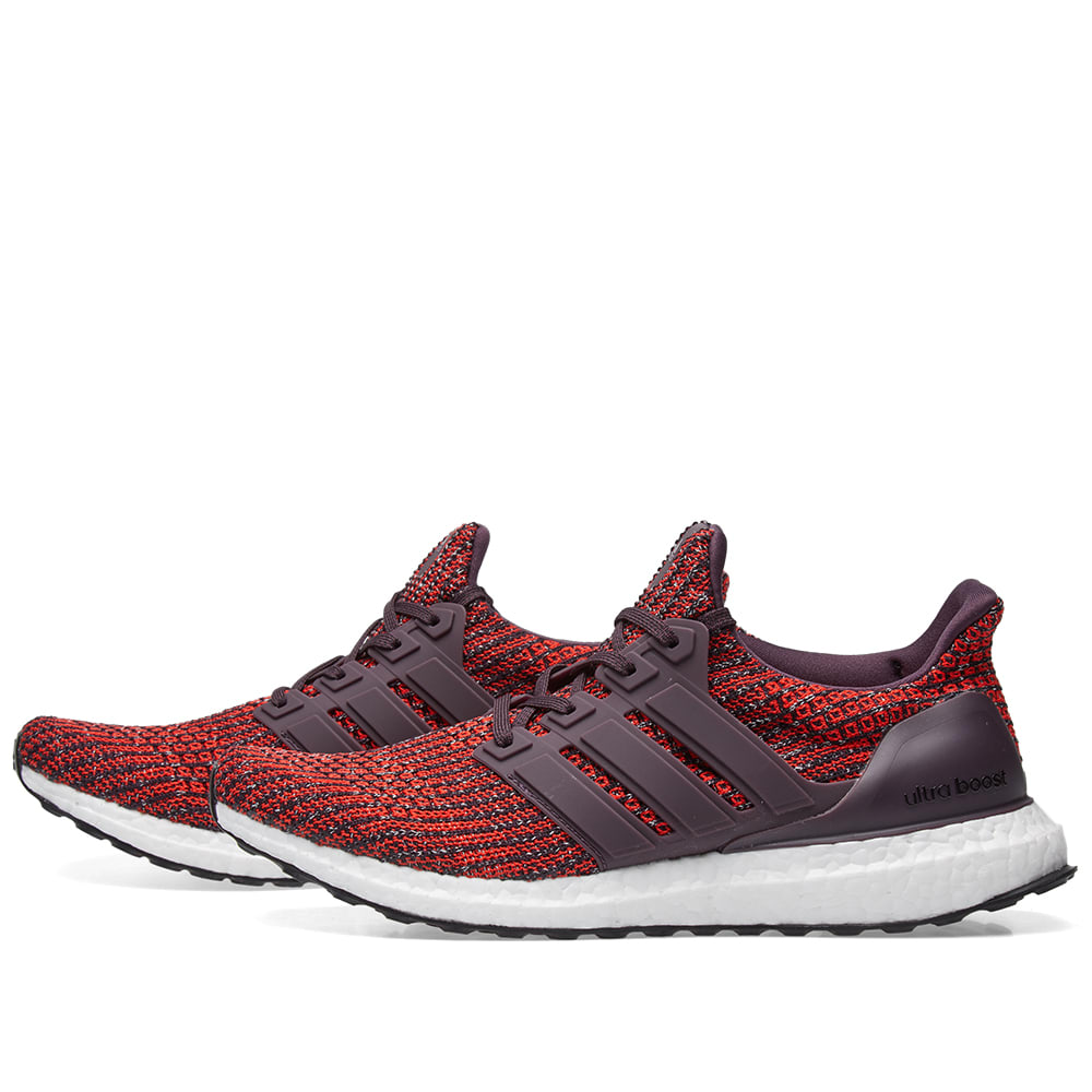 44ad5fdcc33 Adidas Ultra Boost Noble Red   Core Black