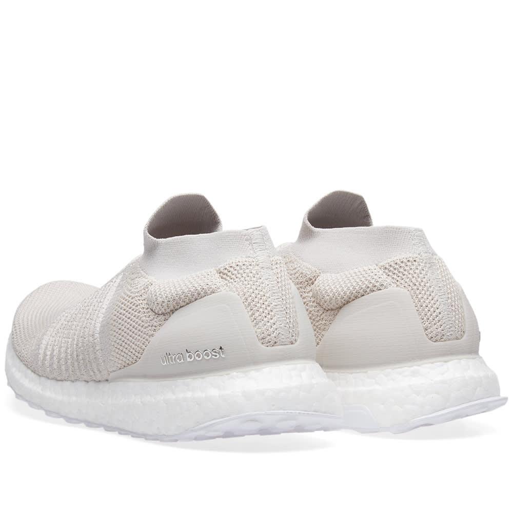 f57369509daf3 Adidas Ultra Boost Laceless Chalk Pearl   Linen