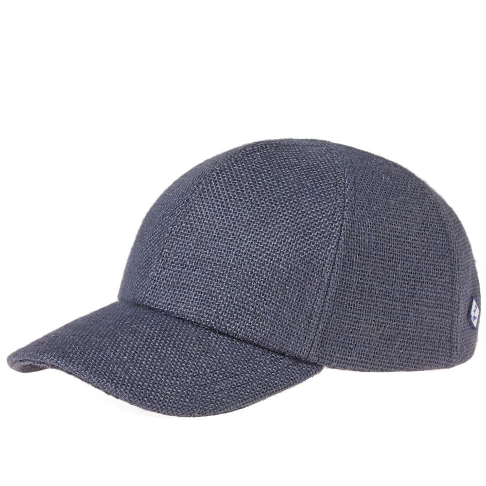 LAROSE PARIS BURLAP BASEBALL CAP