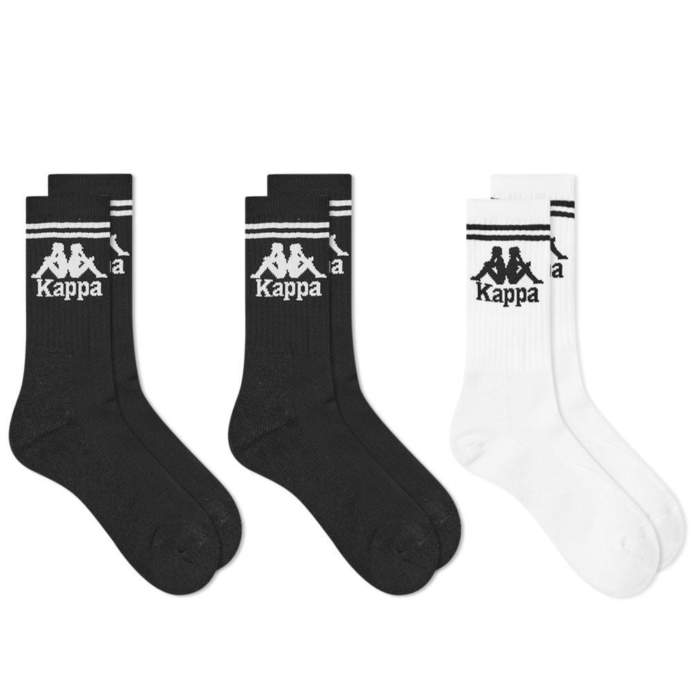 Kappa Authentic Football Sock - 3 Pack In Black