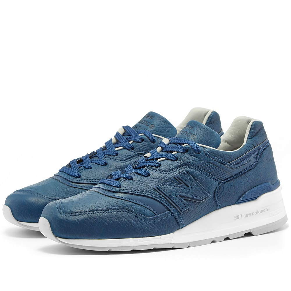 new concept a5b78 b62f0 New Balance M997BIS 'Bison Leather' - Made in the USA
