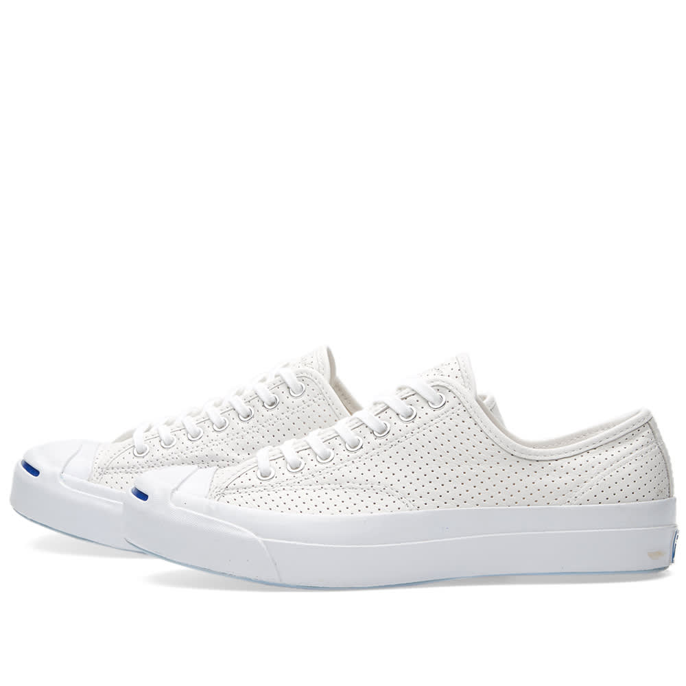 ac29fafba0867d Converse Jack Purcell Signature Ox Perforated White