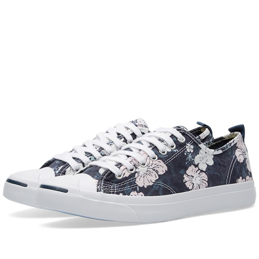 734a0392aec5eb Converse Jack Purcell Hawaiian Twill Ink