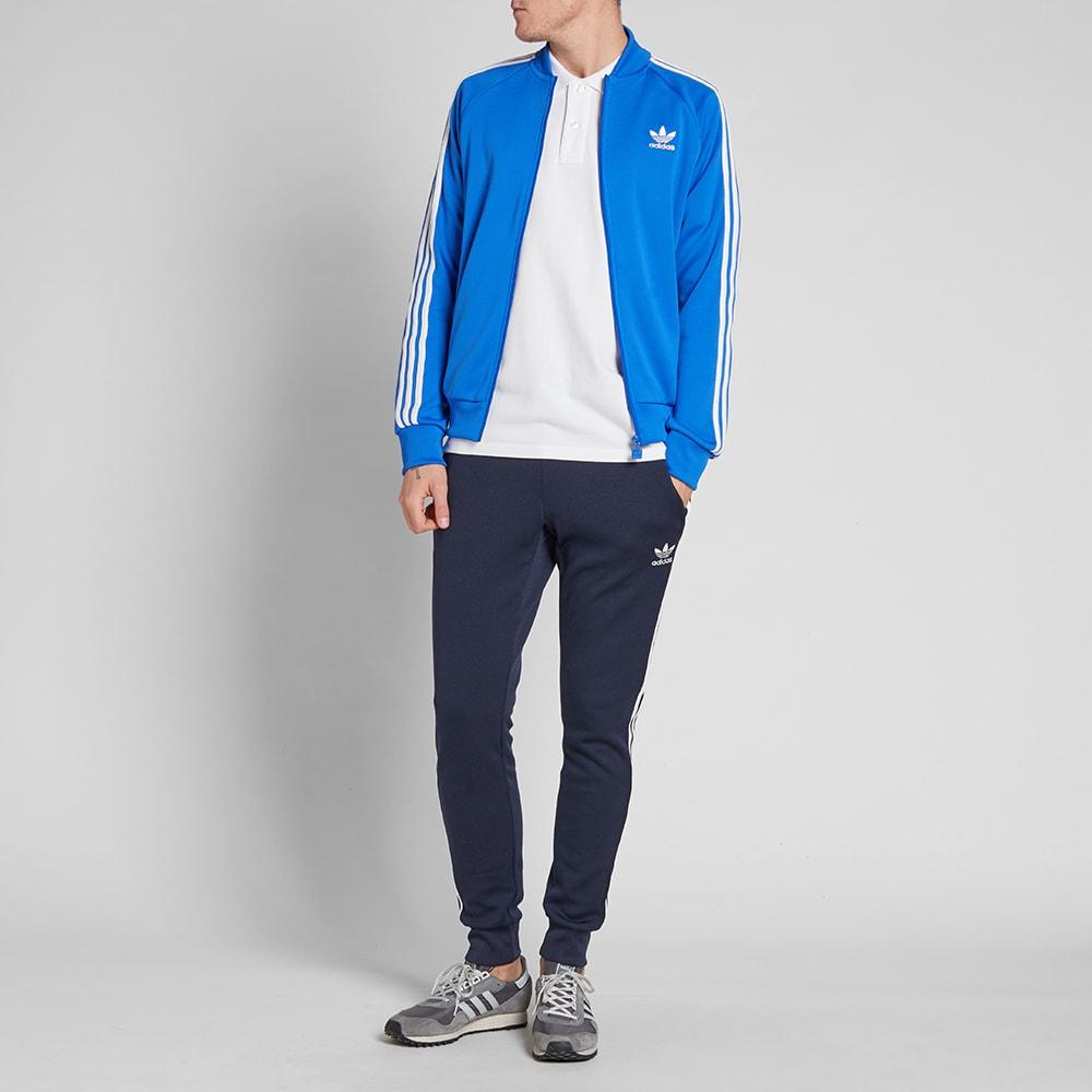 Adidas Superstar Track Top Blue | END.