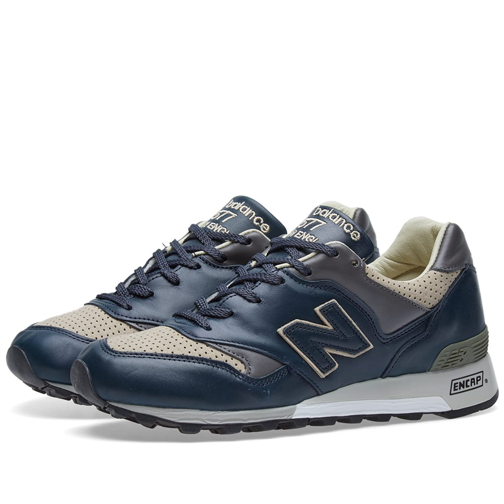 outlet store 38d87 cbb42 New Balance M577LNT- Made in England. Navy   Taupe