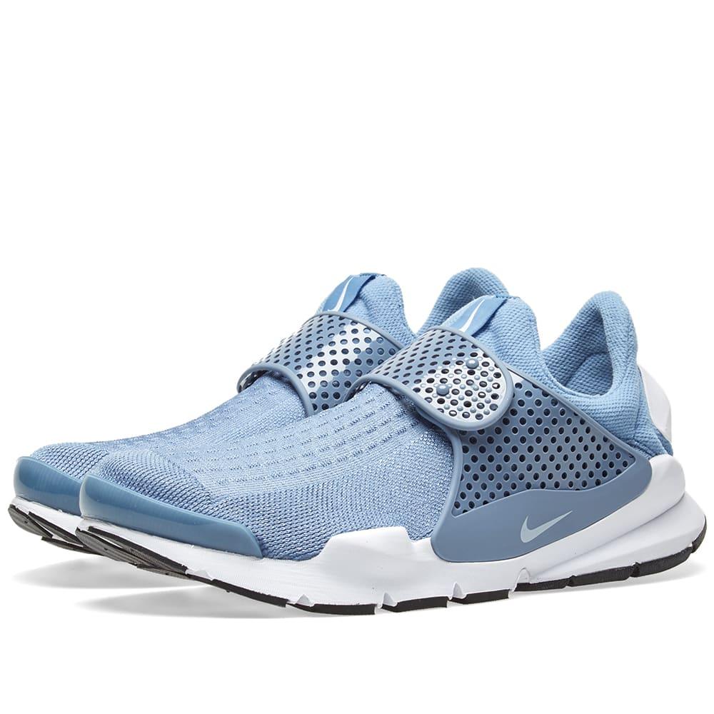 Nike Sock Dart Work Blue, White \u0026 Black