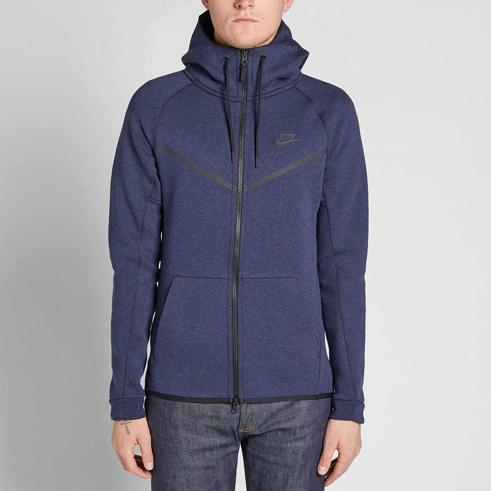 nike tech fleece windrunner obsidian heather black. Black Bedroom Furniture Sets. Home Design Ideas