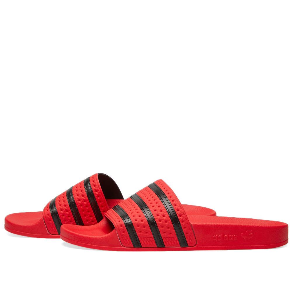 d7e73e31330b Adidas Adilette Coral   Black