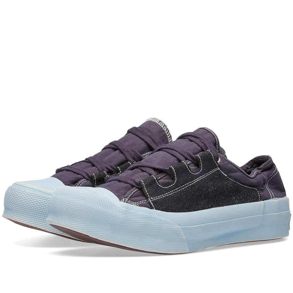 93a40551cee860 Needles Asymmetric Ghillie Sneaker Charcoal