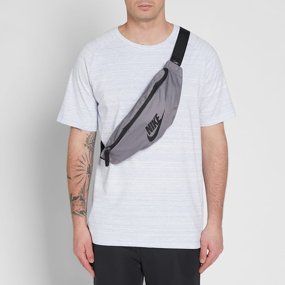 bf1a010971c8 Nike Heritage Hip Pack Gunsmoke   Black