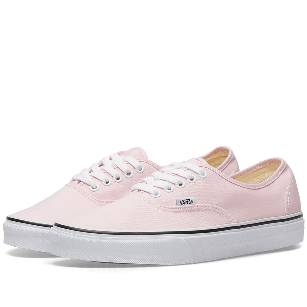 ab33f182712021 Vans Authentic Chalk Pink   True White