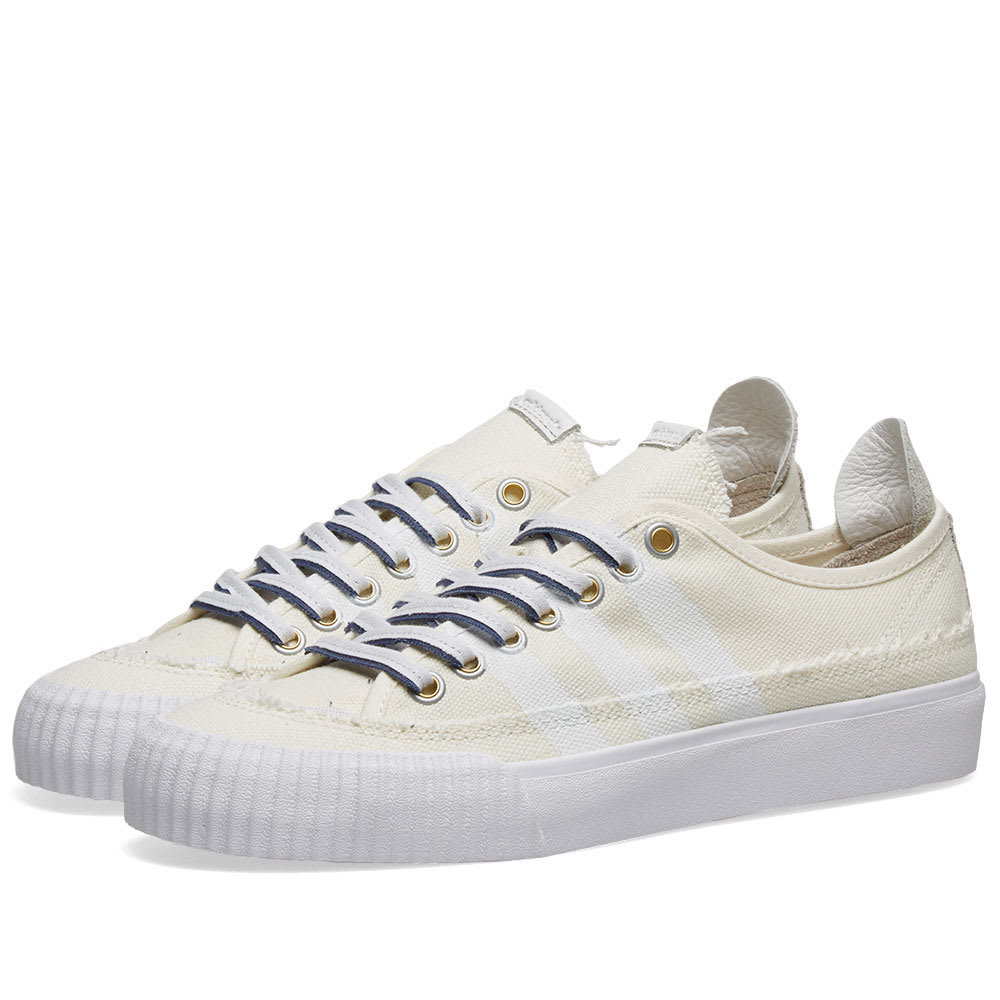 Adidas x Donald Glover NIzza Off White & White | END.