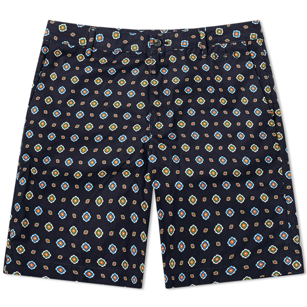 1031cf908 Kenzo Geometric Print Short Midnight Blue | END.