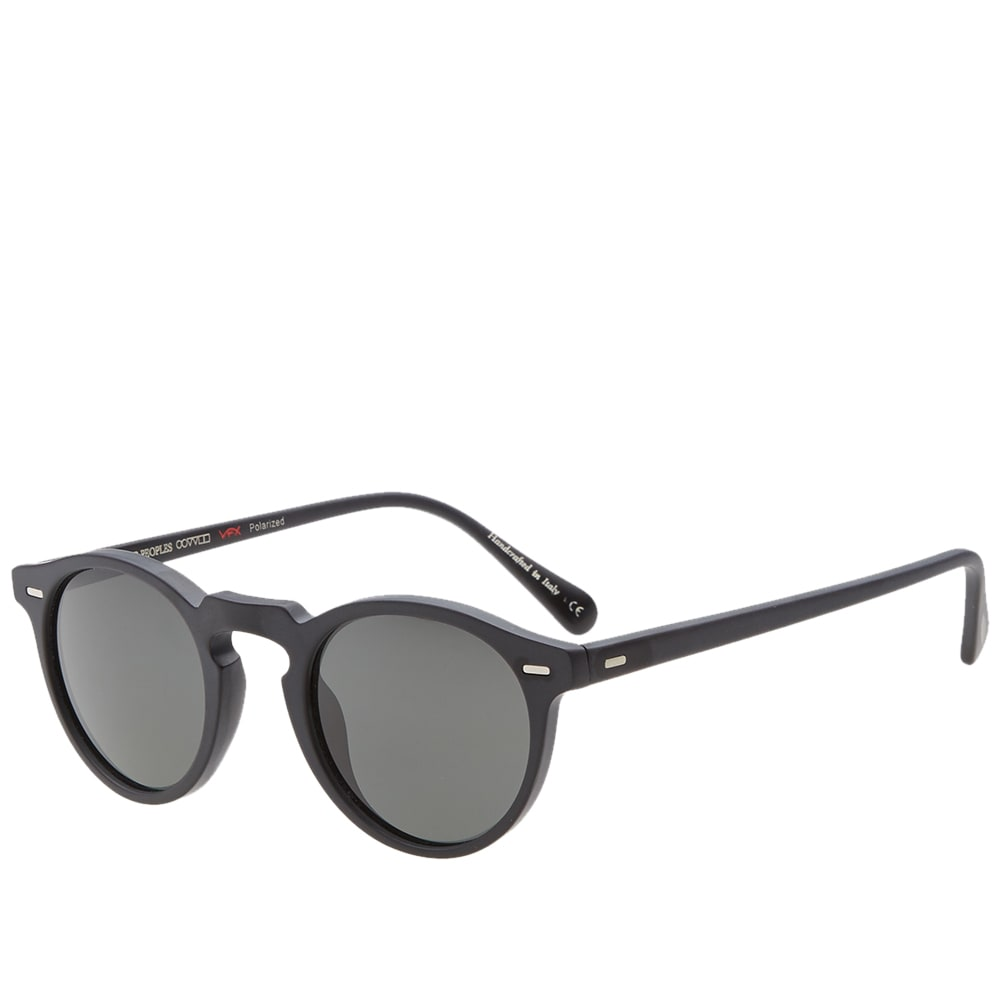 457a18b229 Oliver Peoples Gregory Peck Sunglasses Black - Bitterroot Public Library
