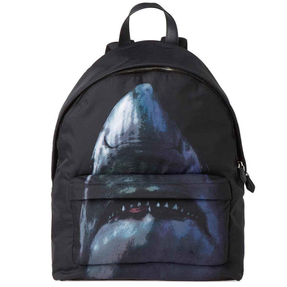 d05c069f8b Givenchy Shark Print Backpack
