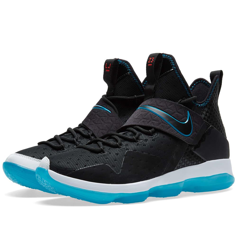 Nike LeBron XIV Premium Black \u0026 Glass