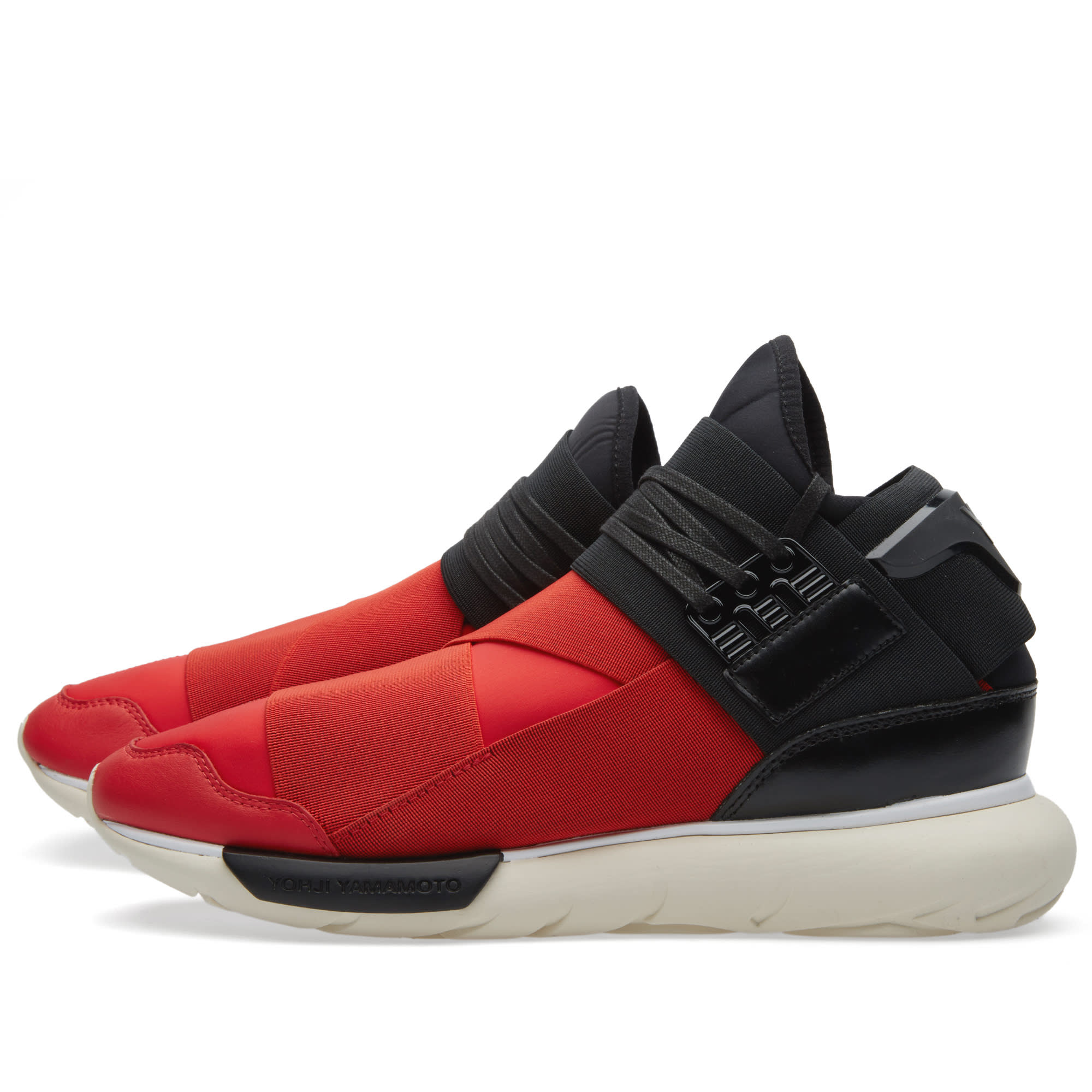 b66c703053072 Y-3 Qasa High Royal Red   Black