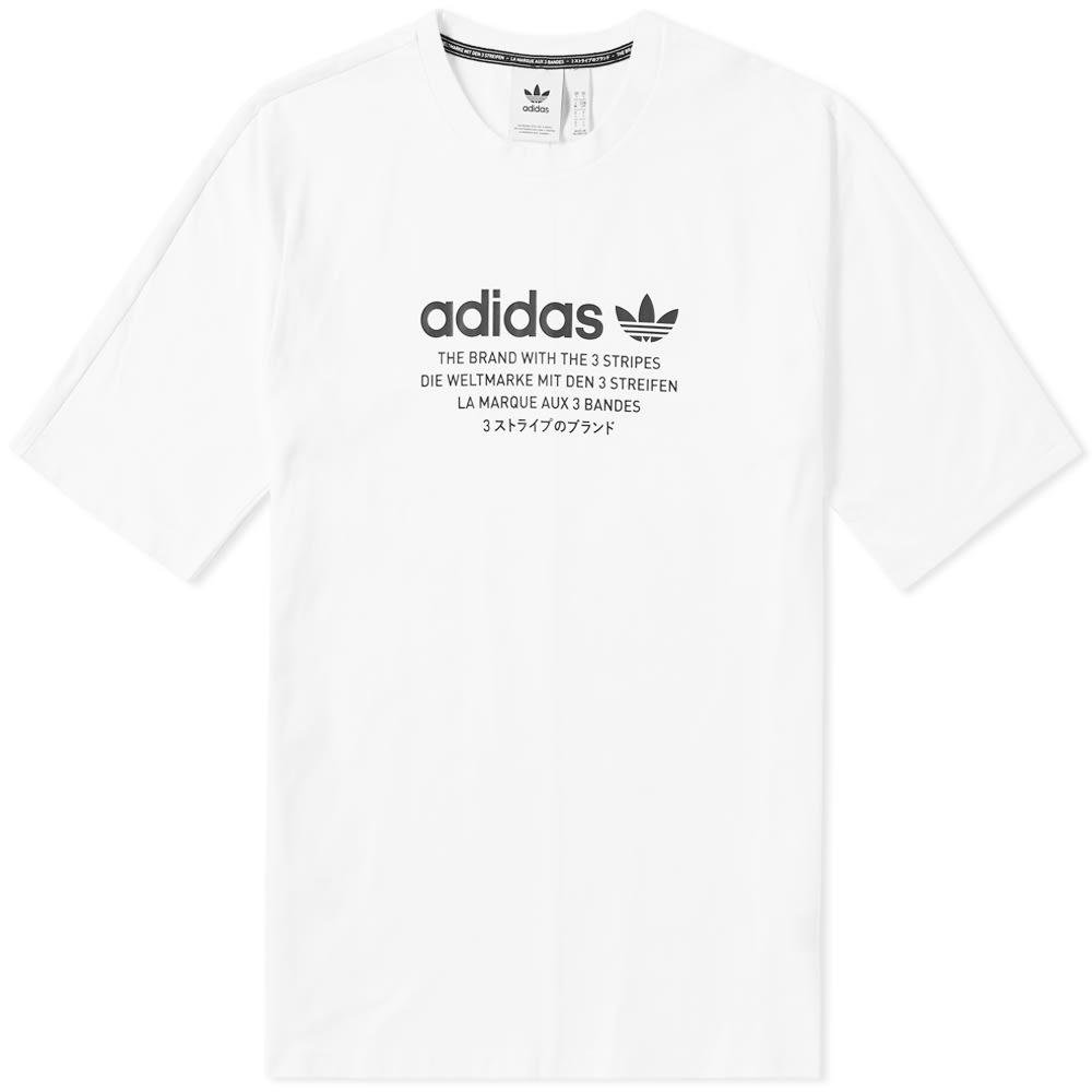 d213dc2e9a7d6 Adidas NMD Tee White