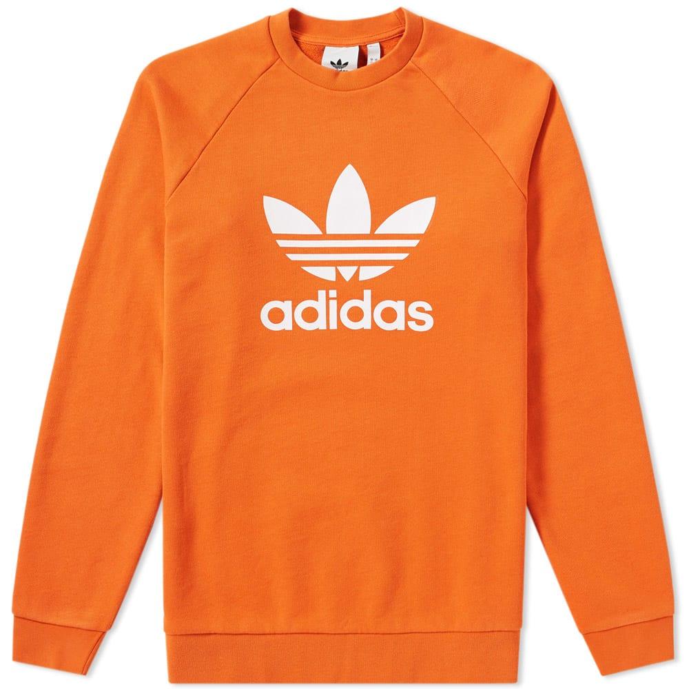 sweat adidas orange et bleu