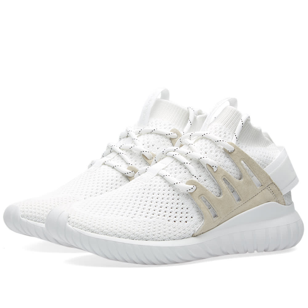wholesale dealer ec845 7eebf Adidas Tubular Nova PK White   Vintage White   END.