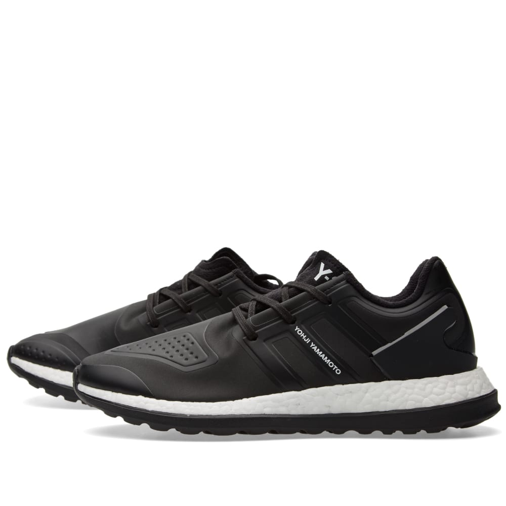 0593e766d Y-3 Pure Boost ZG Core Black   White