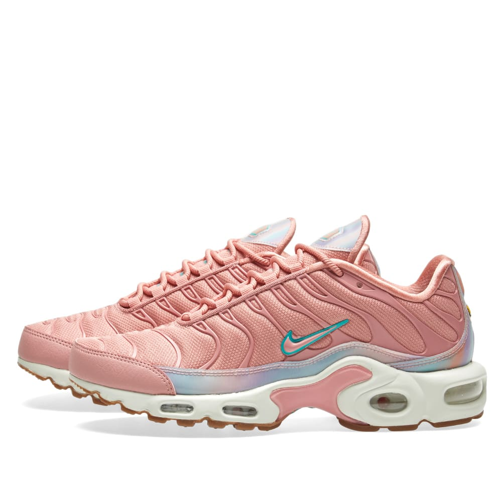 check out 6e1bf 97cf4 Nike Air Max Plus SE W Red Stardust, Teal   Sail   END.