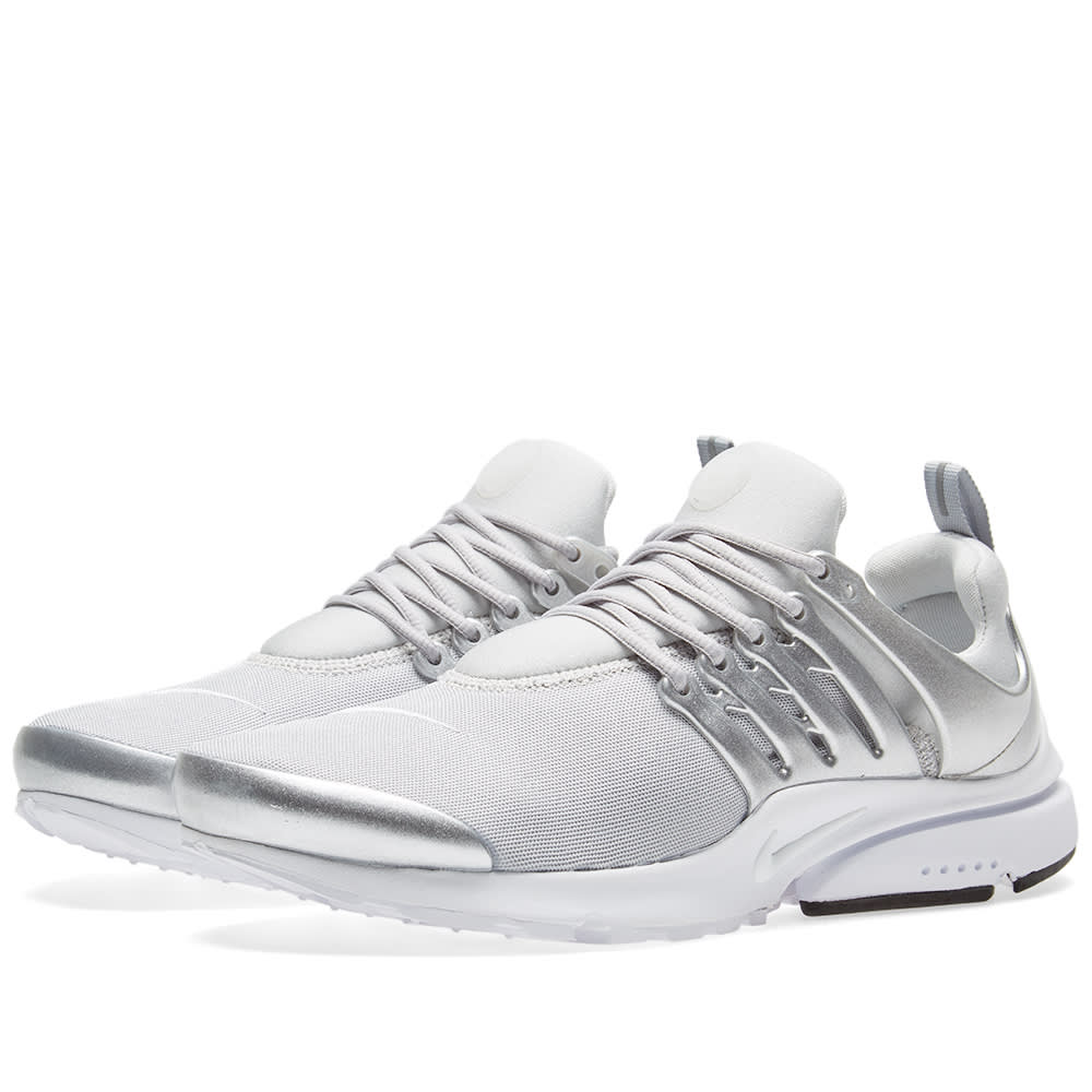 3508cf38ebecf Nike Air Presto Premium Metallic Silver & Platinum | END.