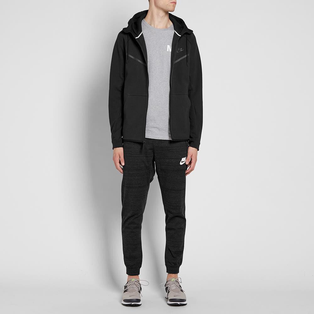 saltar Dureza compañero  Nike Tech Fleece Windrunner Black | END.