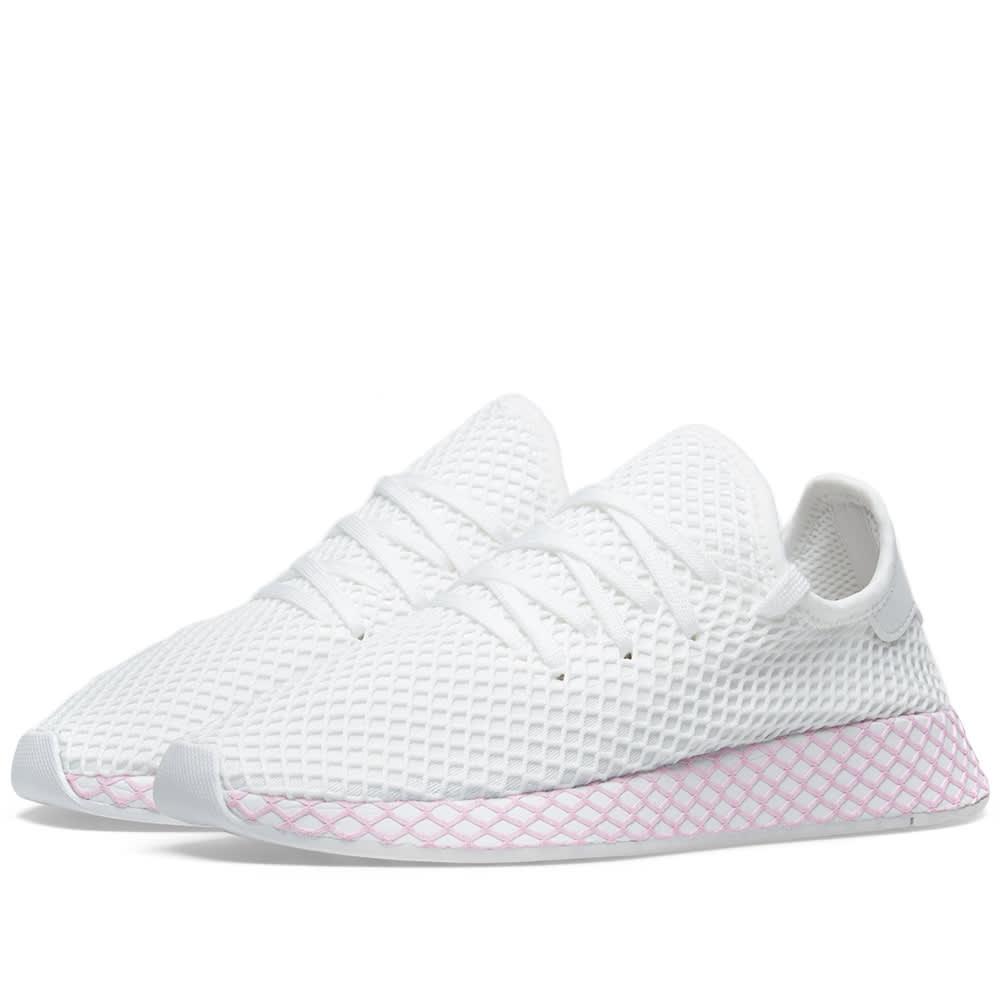 Adidas Deerupt W White \u0026 Clear Lilac   END.