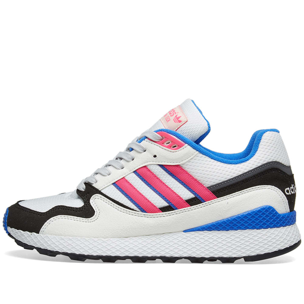 new style 42c71 446f7 Adidas Ultra Tech OG White, Shock Pink   Core Black   END.