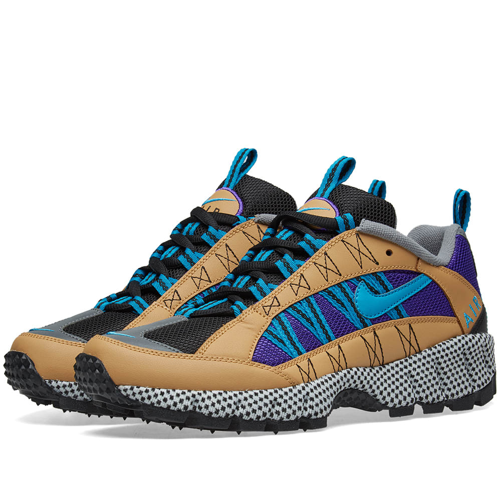 best service 9f7c6 cd59a Nike Air Humara  17 QS Gold, Turquoise   Purple   END.