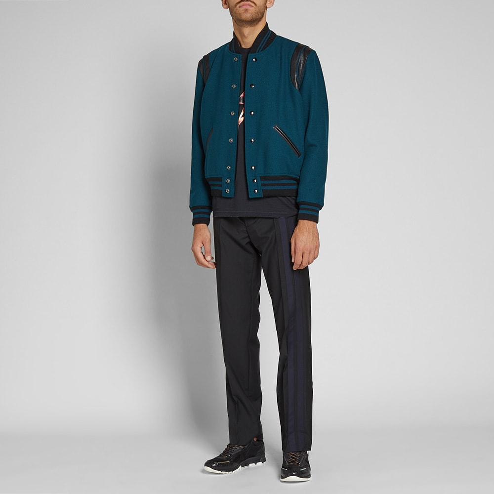 5c67ba172 Saint Laurent Wool Teddy Jacket