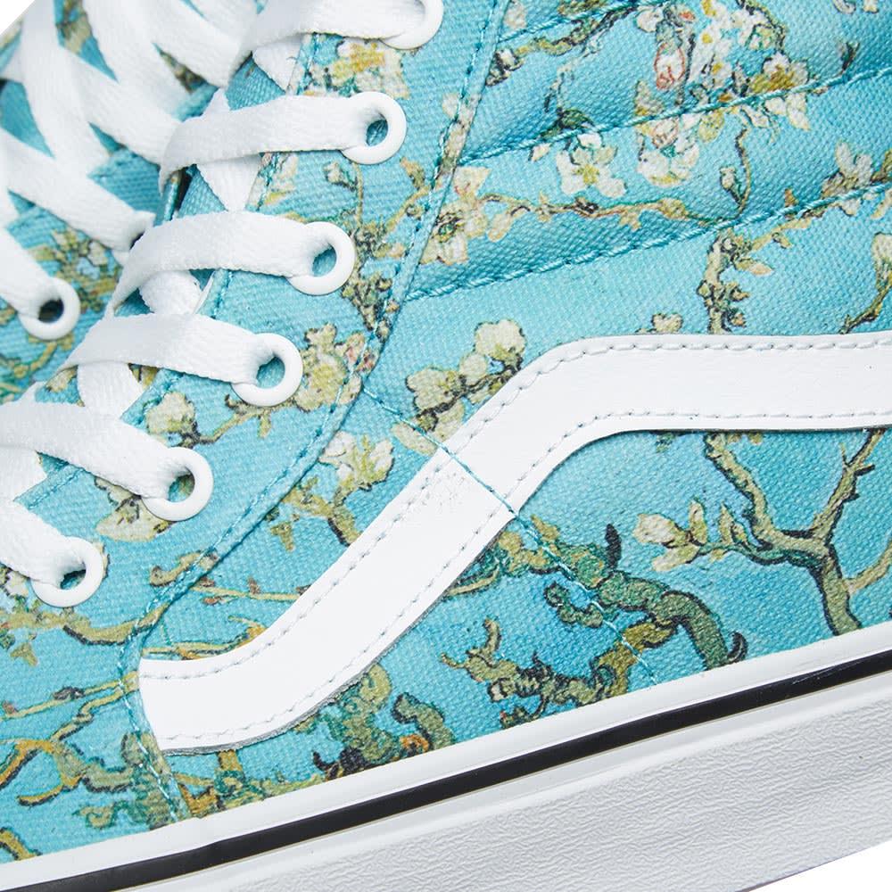c16522a068 Vans Vault Women s UA Sk8-Hi  Vincent Van Gogh  Almond Blossom   True White