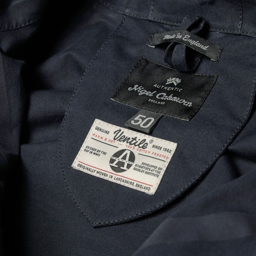 a601d11171fb Nigel Cabourn Classic Cameraman Jacket Brown   Navy