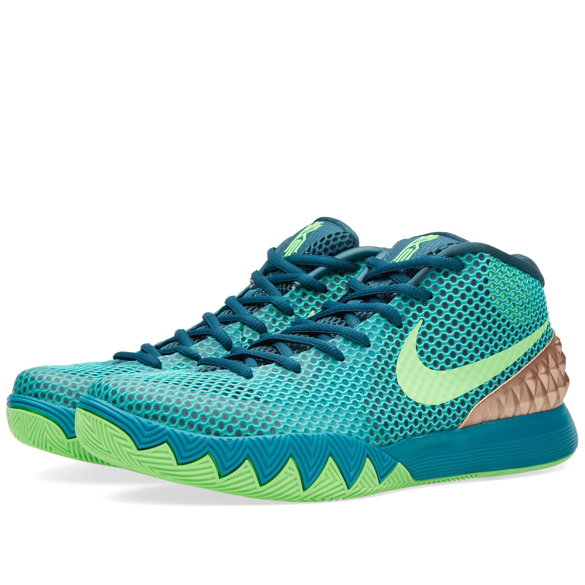 Nike Kyrie 1 (Teal & Green Strike)