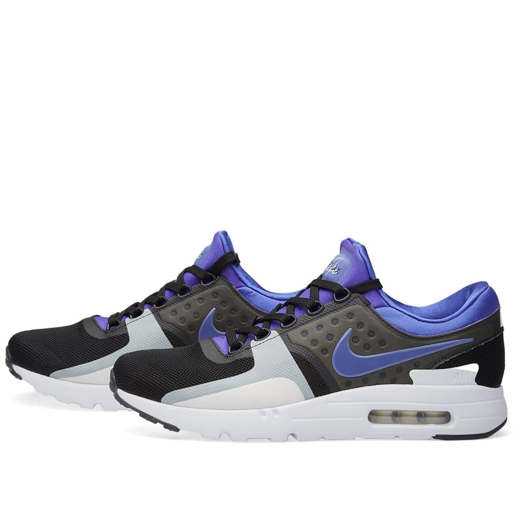 8cb363c1c8 Nike Air Max Zero QS Black, Persian Violet & White | END.
